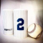 Derek Jeter Candle Yankees MLB