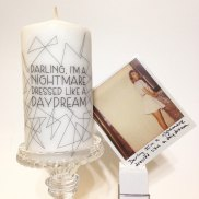 Taylor Swift Inspired Candle